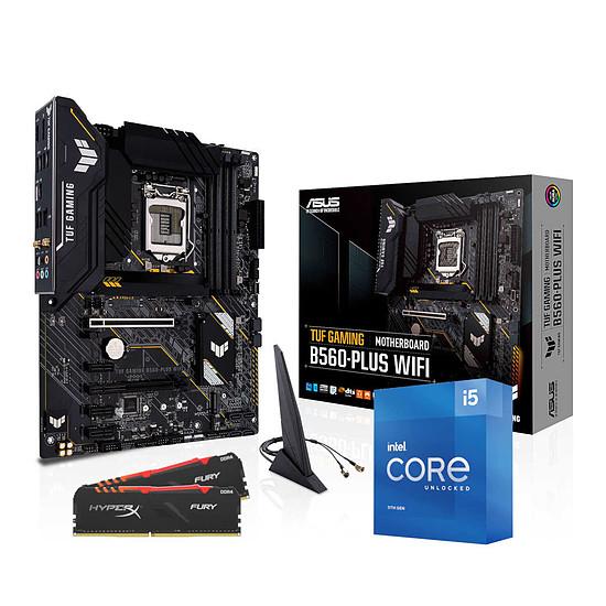 Kit upgrade PC Intel Core i5 11600K - Asus B560 - RAM 16Go