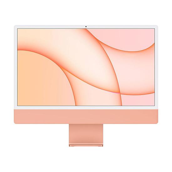 """iMac et Mac Mini Apple iMac (2021) 24"""" 8 Go / 256 Go Orange (Z132-8GB/256GB-M-MKPN)"""