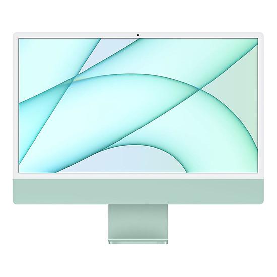 "iMac et Mac Mini Apple iMac (2021) 24"" 256 Go Vert (MGPH3FN/A-MKPN)"