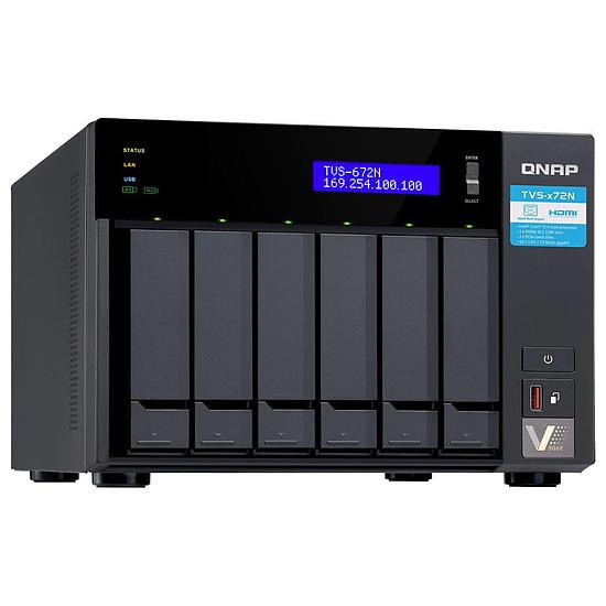 Serveur NAS QNAP TVS-672N-4G