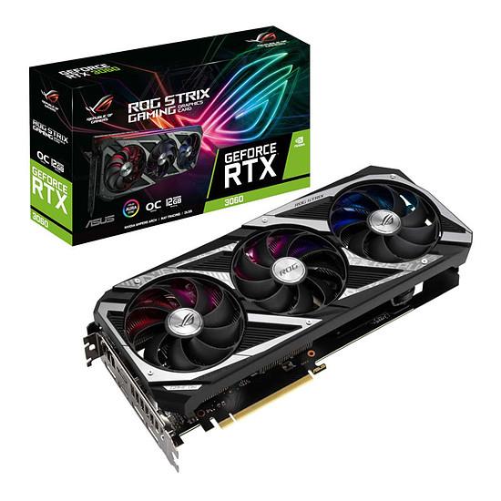 Carte graphique Asus GeForce RTX 3060 ROG STRIX OC V2 (LHR)