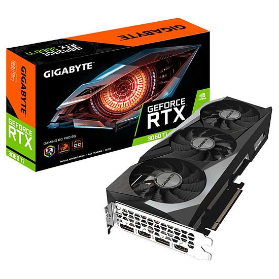 Carte graphique Gigabyte GeForce RTX 3060 Ti GAMING OC PRO V3 (LHR)