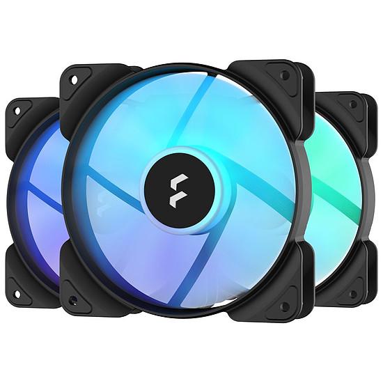 Ventilateur Boîtier Fractal Design  Aspect 12 RGB PWM - Pack de 3 - Noir