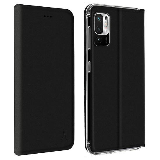 Coque et housse Akashi Etui Folio Porte Carte Noir Xiaomi Redmi Note 10 5G