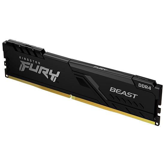 Mémoire Kingston Fury Beast - 1 x 16 Go (16 Go) - DDR4 3200 MHz - CL16