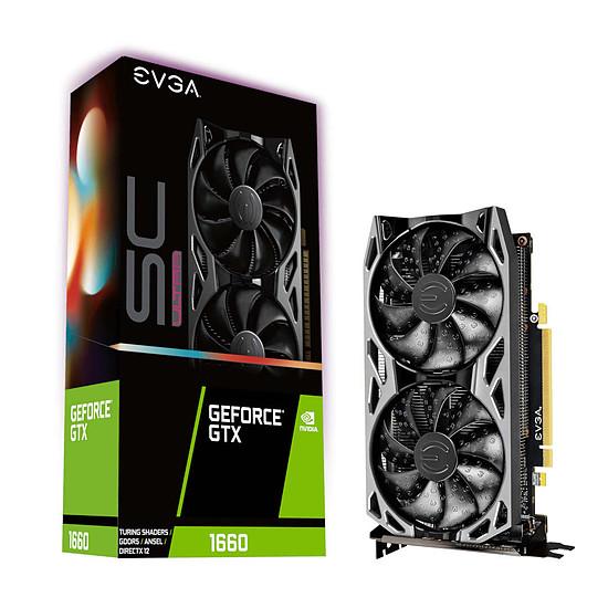 Carte graphique EVGA GeForce GTX 1660 SC Ultra