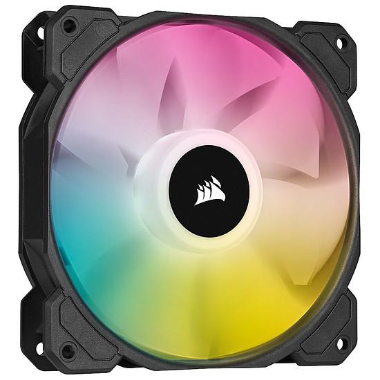 Ventilateur Boîtier Corsair SP120 RGB ELITE - Noir