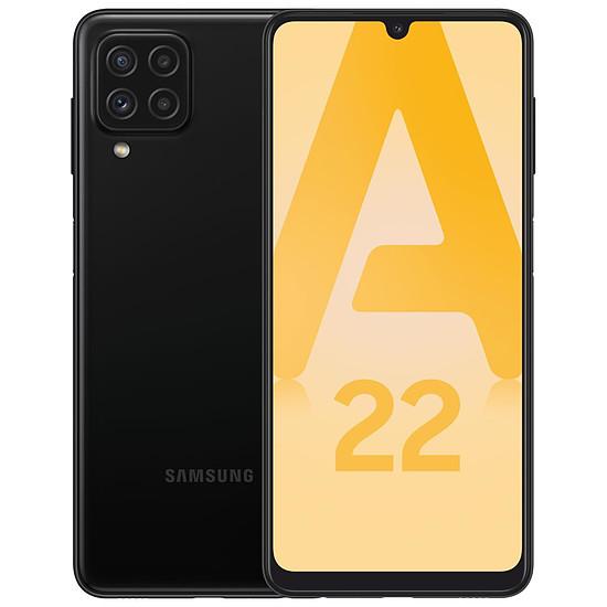 Smartphone et téléphone mobile Samsung Galaxy A22 4G (Noir) - 64 Go - 4 Go