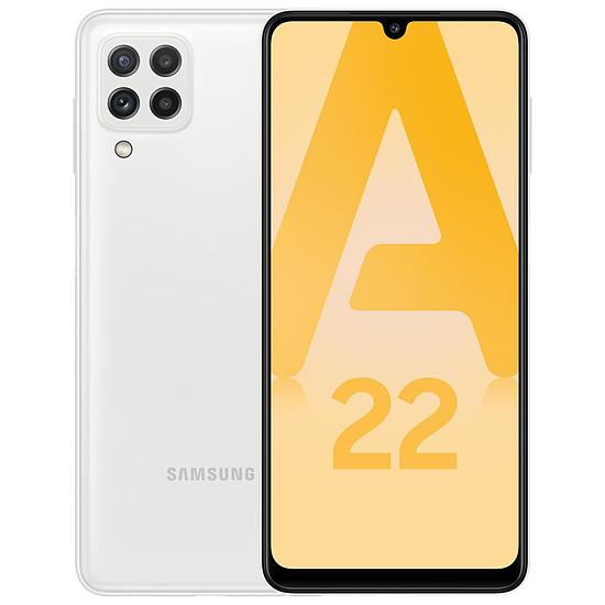 Smartphone et téléphone mobile Samsung Galaxy A22 4G (Blanc) - 64 Go - 4 Go