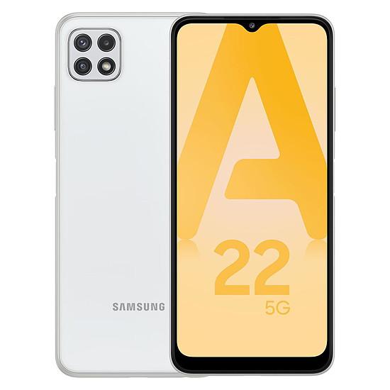 Smartphone et téléphone mobile Samsung Galaxy A22 5G (Blanc) - 128 Go - 4 Go