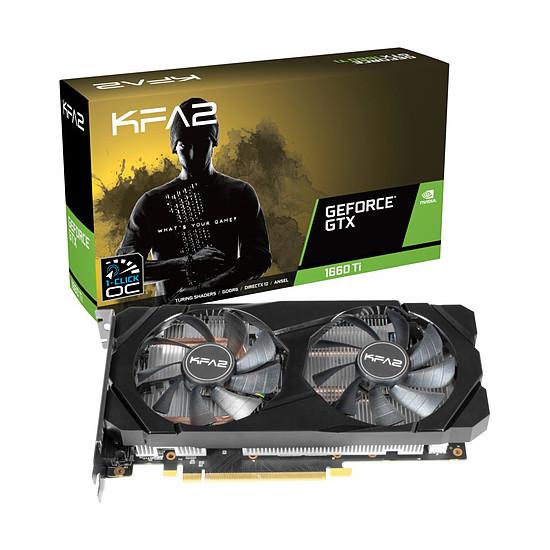 Carte graphique KFA2 GeForce GTX 1660 Ti 1-Click OC