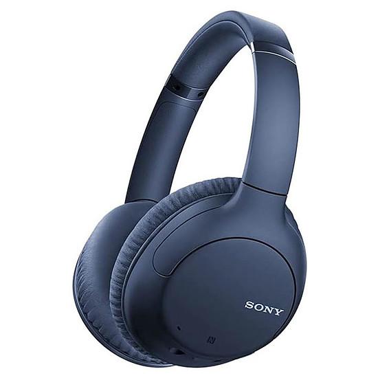 Casque Audio Sony WH-CH710N Bleu - Casque sans fil