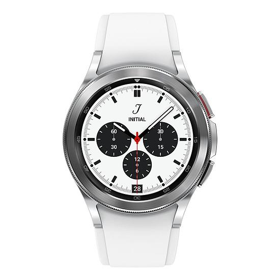 Montre connectée Samsung Galaxy Watch4 Classic (42 mm / Argent)