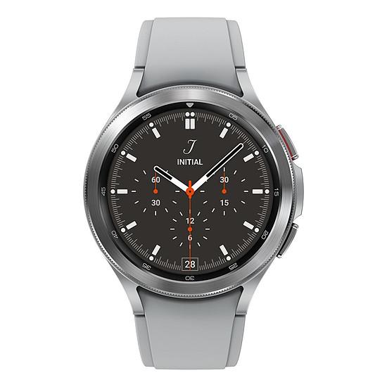 Montre connectée Samsung Galaxy Watch4 Classic (46 mm / Argent)