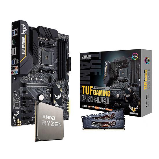 Kit upgrade PC AMD Ryzen 5 3600 - Asus TUF B450 - G.Skill 16 Go 3200 MHz