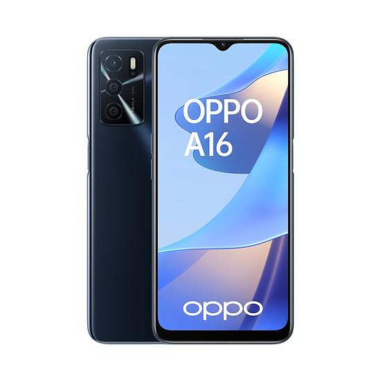 Smartphone et téléphone mobile OPPO A16 Noir
