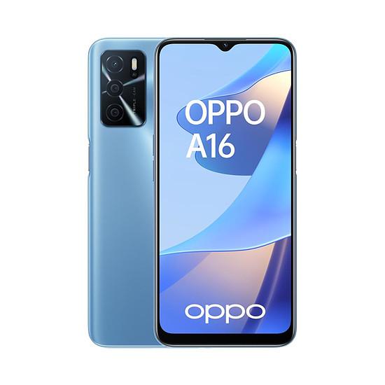 Smartphone et téléphone mobile OPPO A16 Bleu