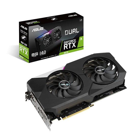 Carte graphique Asus GeForce RTX 3070 DUAL V2 (LHR)