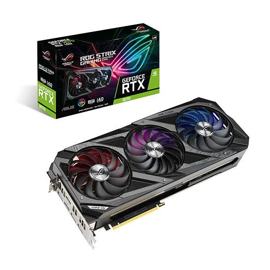 Carte graphique Asus GeForce RTX 3070 ROG STRIX V2 (LHR)