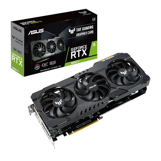 Carte graphique Asus GeForce RTX 3060 Ti TUF OC V2 (LHR)