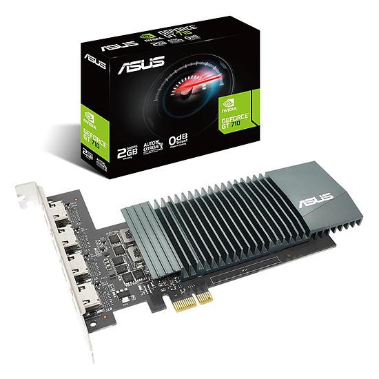 Carte graphique Asus GeForce GT 710 - 2 Go (GT710-4H-SL-2GD5)