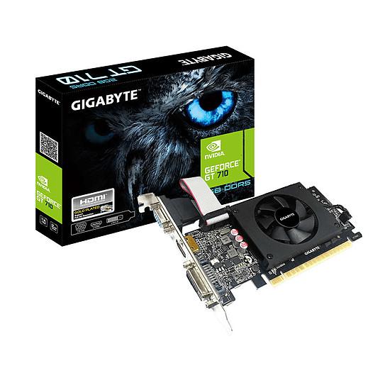 Carte graphique Gigabyte GeForce GT 710 - 2 Go GDDR5