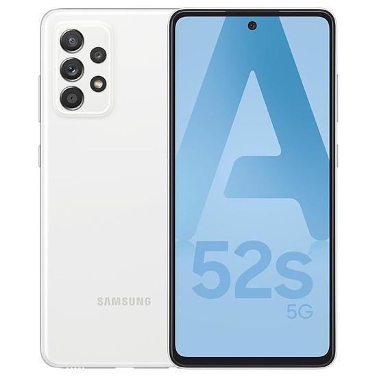Smartphone et téléphone mobile Samsung Galaxy A52s 5G (Blanc) - 128 Go