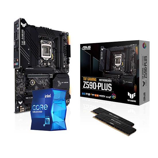 Kit upgrade PC Intel Core i9 11900K - Asus Z590 - RAM 16 Go 3600 MHz