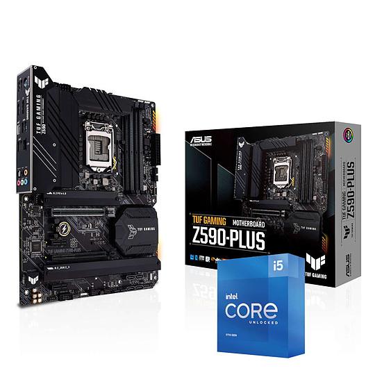 Kit upgrade PC Intel Core i5 11600K - Asus TUF Z590 PLUS