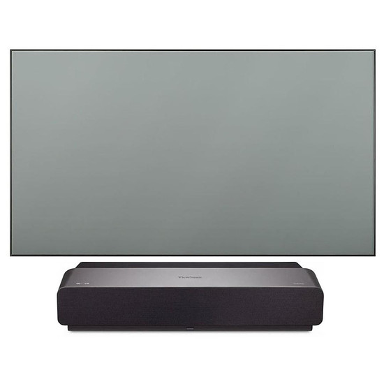 Vidéoprojecteur ViewSonic X1000-4K - DLP 4K UHD - 2400 Lumens + cadre  Benq ALRS01 254 cm