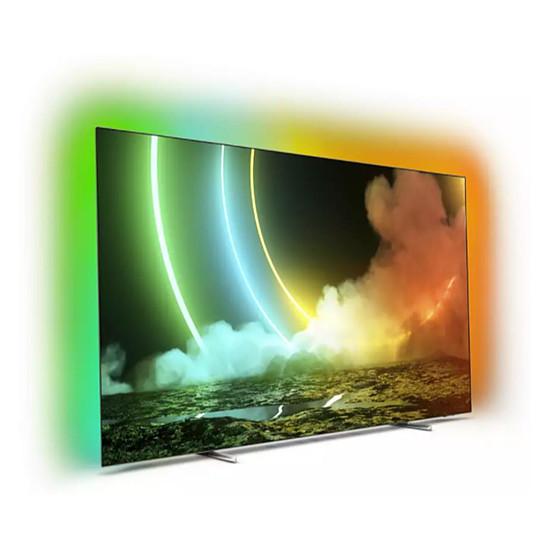 TV Philips 55OLED706 - TV OLED 4K UHD HDR - 139 cm