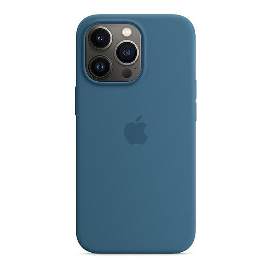 Coque et housse Apple Coque en silicone avec MagSafe pour iPhone 13 Pro - Bleu clair