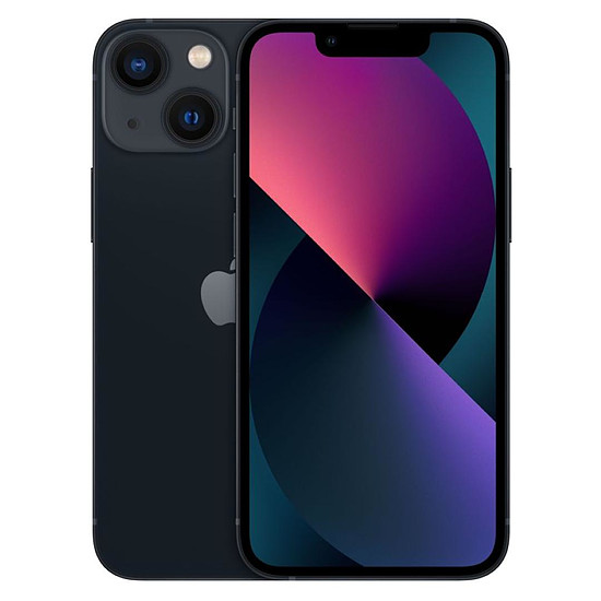 Smartphone et téléphone mobile Apple iPhone 13 mini (Minuit) - 128 Go