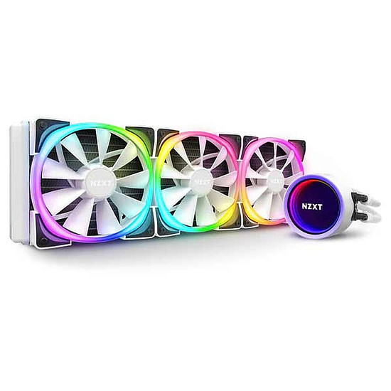 Refroidissement processeur NZXT Kraken X73 RGB - Blanc