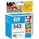 Cartouche imprimante HP Cartouche d'encre n°343 (C8766EE) - 3 Couleurs - Autre vue