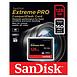 Carte mémoire Sandisk Extreme Pro CompactFlash 128 Go (160 Mo/s) - Autre vue