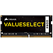 Mémoire Corsair ValueSelect SO-DIMM DDR4 4 Go 2133 MHz CAS 15 - Autre vue
