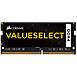 Mémoire Corsair ValueSelect SO-DIMM - 1 x 16 Go - DDR4 2666 MHz - CL18 - Autre vue