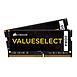 Mémoire Corsair ValueSelect SO-DIMM DDR4 2 x 4 Go 2133 MHz CAS 15 - Autre vue