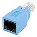 Connectique RJ45 StarTech.com Adaptateur rollover console cisco pour câble RJ45 - Autre vue