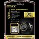 Carte mémoire PNY Elite Performance SDHC 32 Go (100Mo/s) - Autre vue