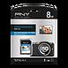 Carte mémoire PNY Performance SDHC 8 Go (80Mo/s) - Autre vue