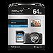Carte mémoire PNY Performance SDXC 64 Go (80Mo/s) - Autre vue