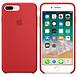 Coque et housse Apple Coque silicone (rouge) - iPhone 8 Plus / 7 Plus - Autre vue