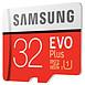 Carte mémoire Samsung Evo Plus SDXC 32 Go (95 Mo/s) + adaptateur SD - Autre vue