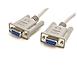 Série StarTech.com Câble DB9 Null modem F/F - 3 m - Autre vue