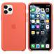 Coque et housse Apple Coque en silicone (clémentine) - iPhone 11 Pro - Autre vue
