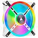 Ventilateur Boîtier Corsair QL120 RGB - Blanc - Autre vue