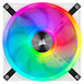 Ventilateur Boîtier Corsair QL140 RGB Blanc - Pack de 2  - Autre vue