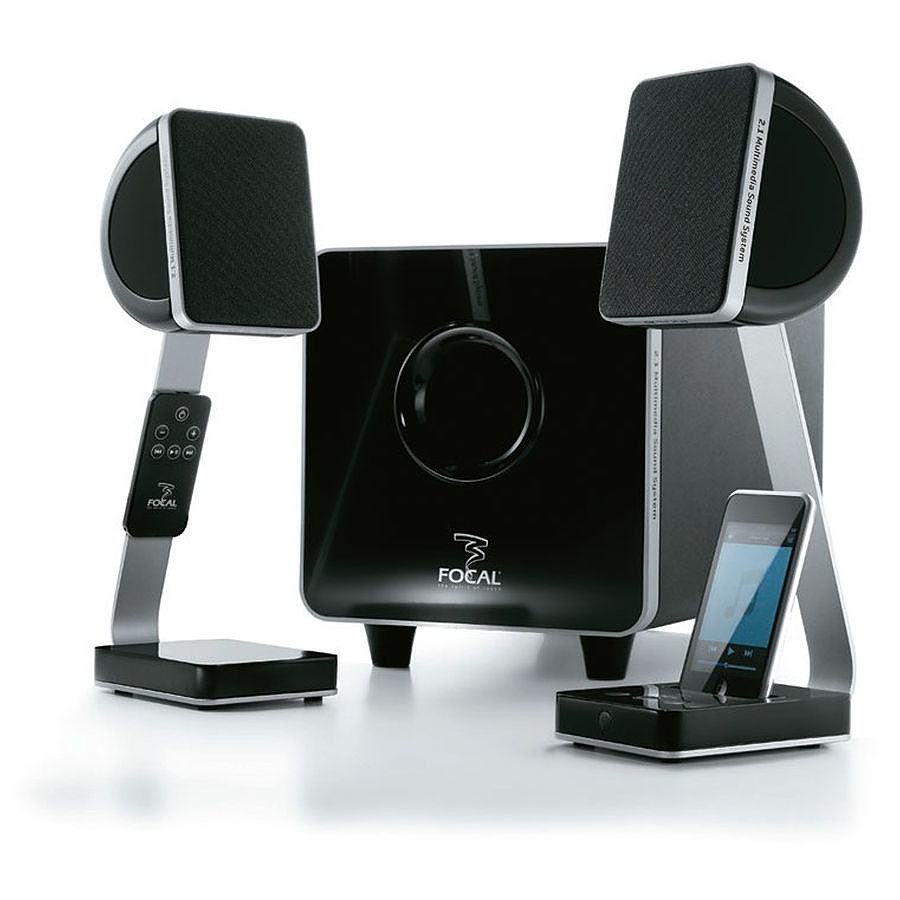 focal xs 2 1 enceinte bluetooth focal sur. Black Bedroom Furniture Sets. Home Design Ideas